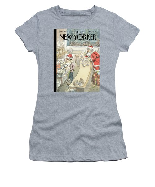 Santa's Little Helper Women's T-Shirt