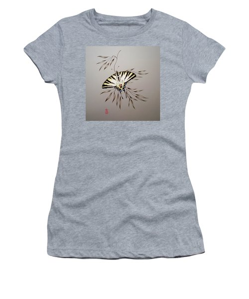 Scarce Swallowtail On Bamboo Women's T-Shirt