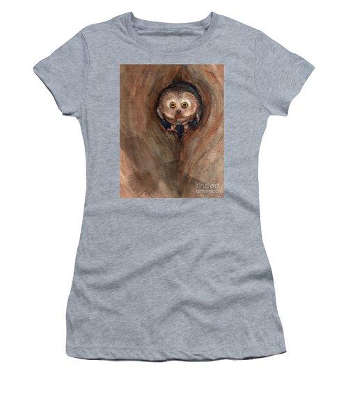 Scardy Owl Women's T-Shirt