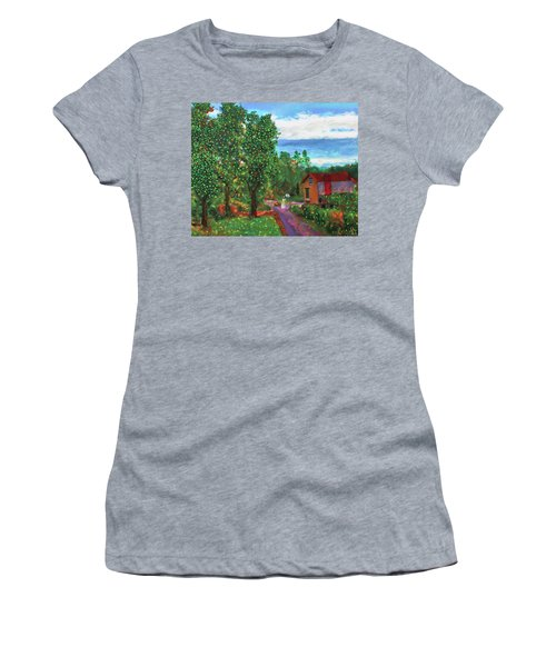 Scene From Giverny Women's T-Shirt