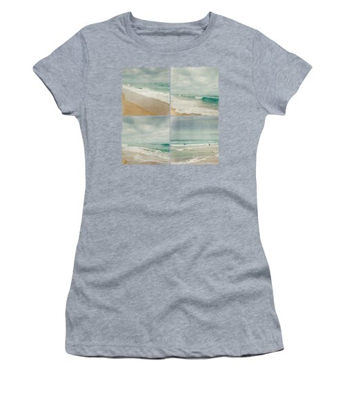 Sea And Waves Mosaic Women's T-Shirt