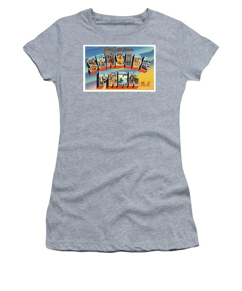 Seaside Park Greetings Women's T-Shirt