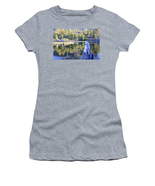 Women's T-Shirt featuring the photograph Sekani Throne  by Sean Sarsfield