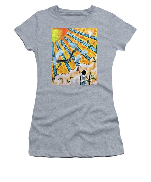 Shattered Skies Women's T-Shirt