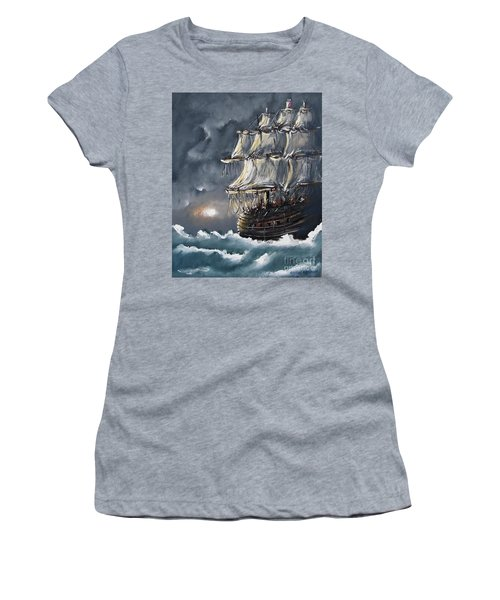Ship Voyage Women's T-Shirt
