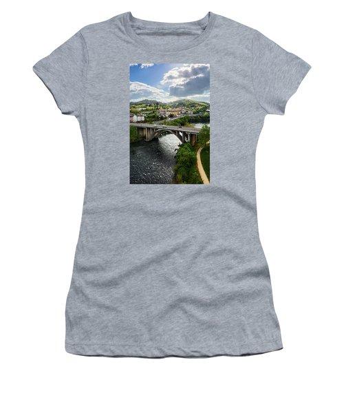 Sights From The Millennium Bridge Women's T-Shirt