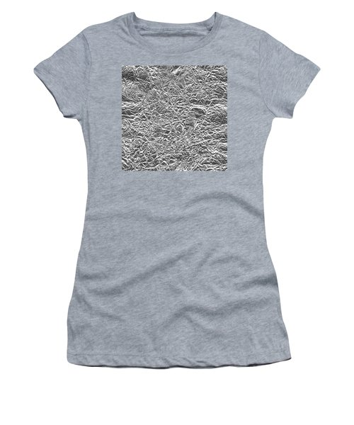 Women's T-Shirt (Athletic Fit) featuring the photograph Silver Gift  by Top Wallpapers