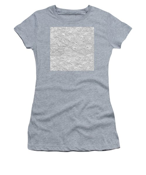 Women's T-Shirt (Athletic Fit) featuring the photograph Silver Stone by Top Wallpapers