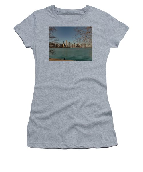 Sitting On A Summer Day Women's T-Shirt