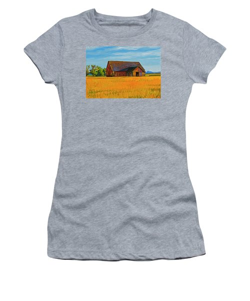 Skagit Valley Barn #9 Women's T-Shirt