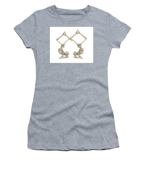 Skeleton Yoga 002 Women's T-Shirt
