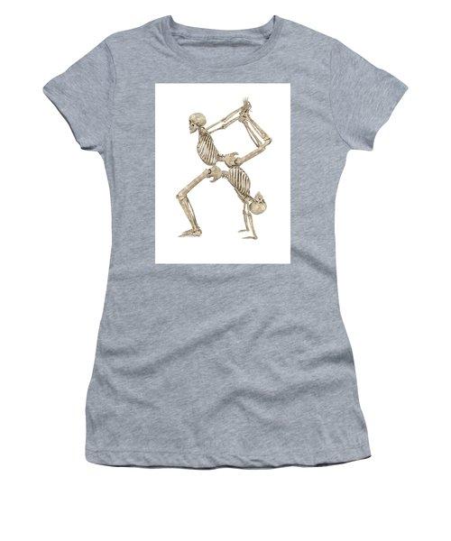 Skeleton Yoga 003 Women's T-Shirt