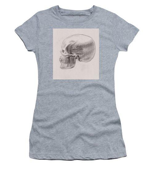 Skull Study Profile Women's T-Shirt