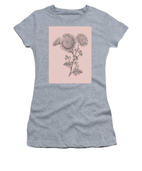 Small Anemone Blush Pink Flower Women's T-Shirt