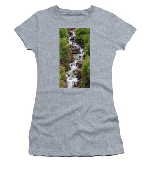 Small Cascade 1x2 Vertical Women's T-Shirt
