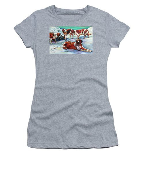Snow Dogs Women's T-Shirt
