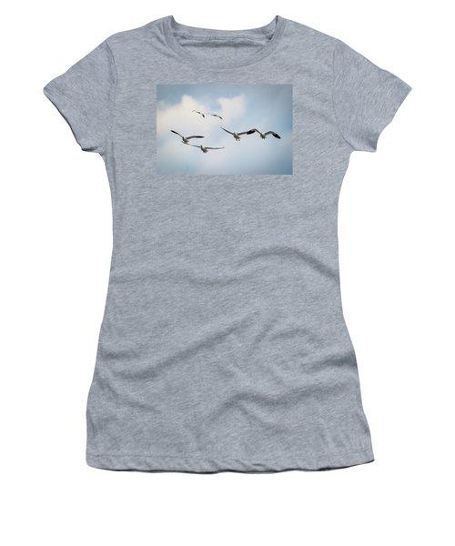 Snows On Approach Women's T-Shirt