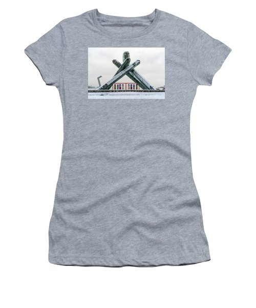 Snowy Olympic Cauldron Women's T-Shirt