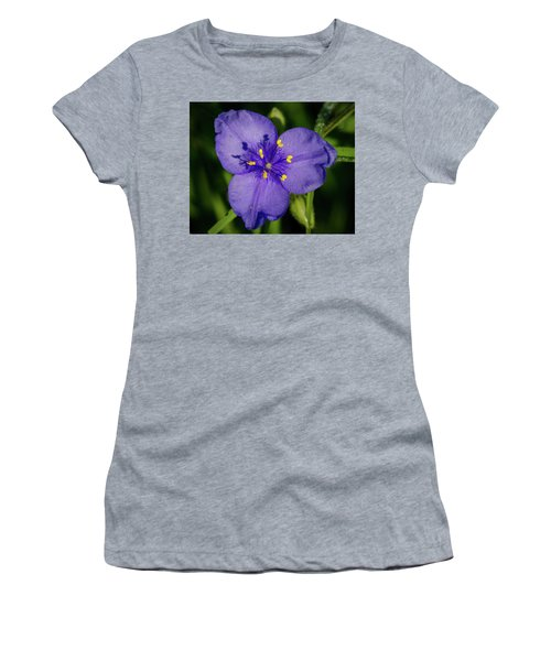 Spiderwort Flower Women's T-Shirt