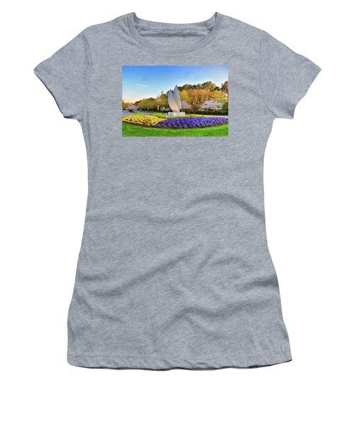 Springtime At Christopher Newport University Women's T-Shirt