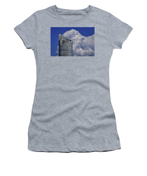 Women's T-Shirt featuring the photograph Stacked by Skip Hunt