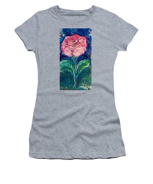 Standing Rose Women's T-Shirt
