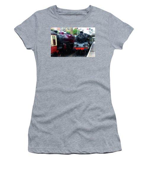 Steam Trains Women's T-Shirt