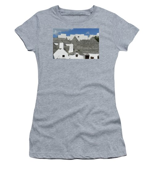 Stone Coned Rooves Of Trulli Houses Women's T-Shirt