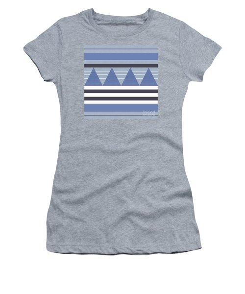 Women's T-Shirt featuring the photograph Stormy Blue Patch by Rockin Docks