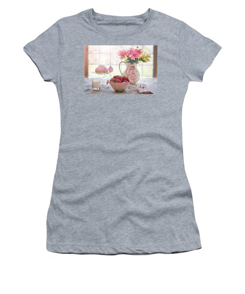 Strawberry Breakfast Women's T-Shirt
