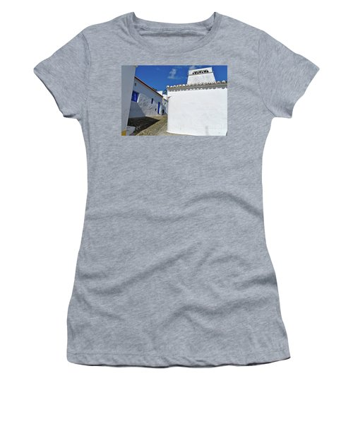 Streets Of A Medieval Castle. Alentejo Women's T-Shirt