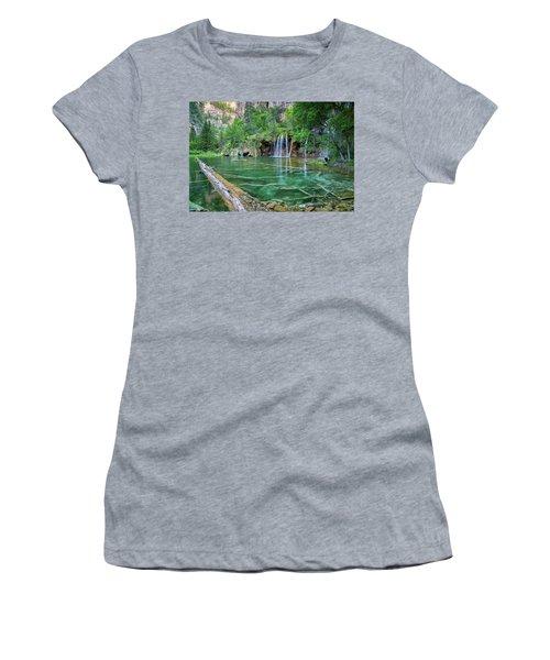 Submerged Log, Hanging Lake Colorado Women's T-Shirt