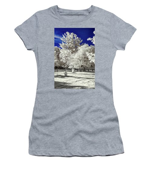 Summer Park In Infrared Women's T-Shirt