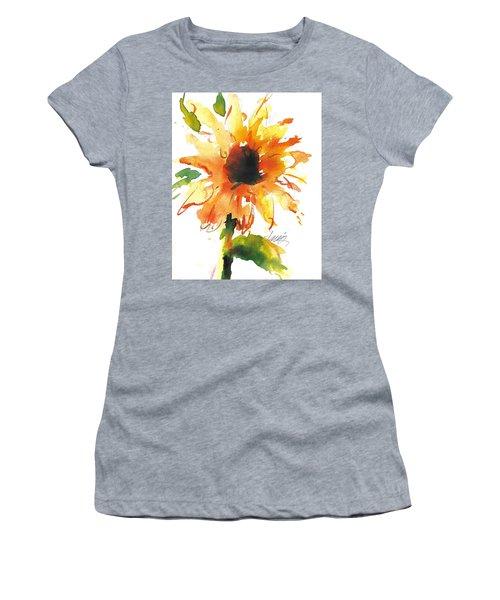 Sunflower Too - A Study Women's T-Shirt