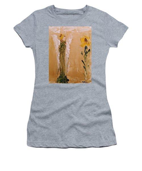 Sunflower Angel Women's T-Shirt