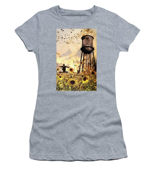 Sunflowers At Dusk Women's T-Shirt