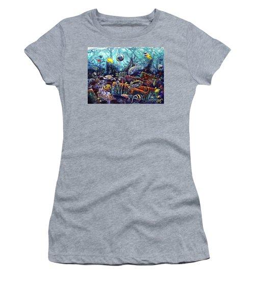 Sunken Tiki Reef Women's T-Shirt