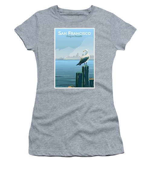 Sunny In Sausalito Women's T-Shirt