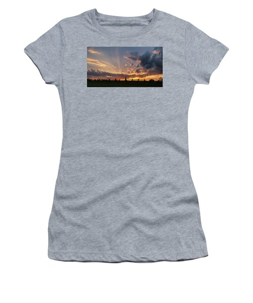 Sunrays At Sunset Women's T-Shirt