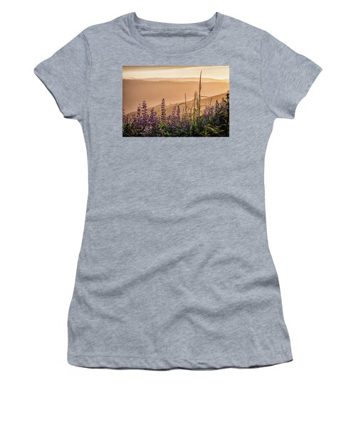 Sunset Among The Lupine Women's T-Shirt
