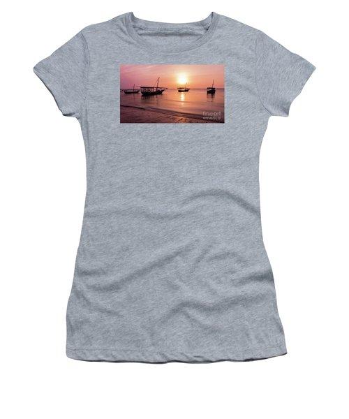 Sunset In Zanzibar Women's T-Shirt
