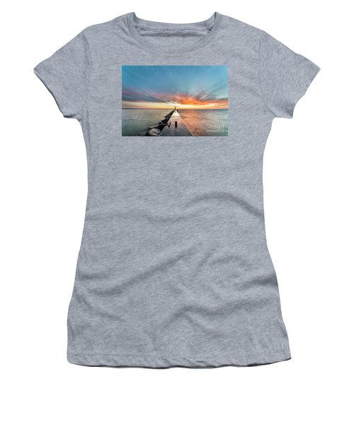 Sunset Skies Over Frankfort Women's T-Shirt