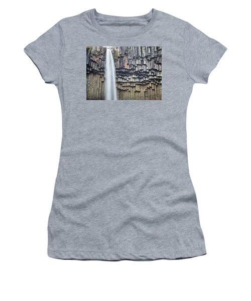 Svartifoss Portrait Iceland Women's T-Shirt