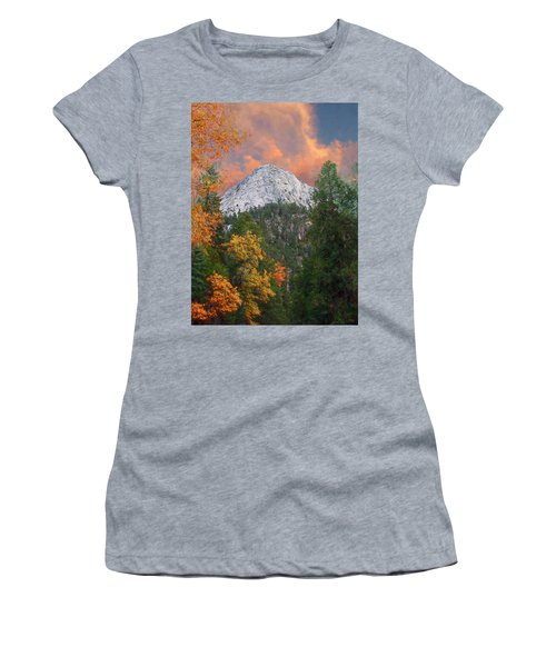 Tahquitz Peak - Lily Rock Painted Version Women's T-Shirt