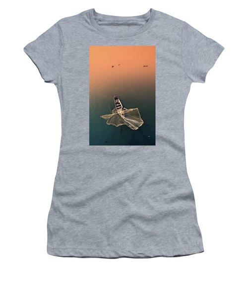 Taungthaman Lake Women's T-Shirt