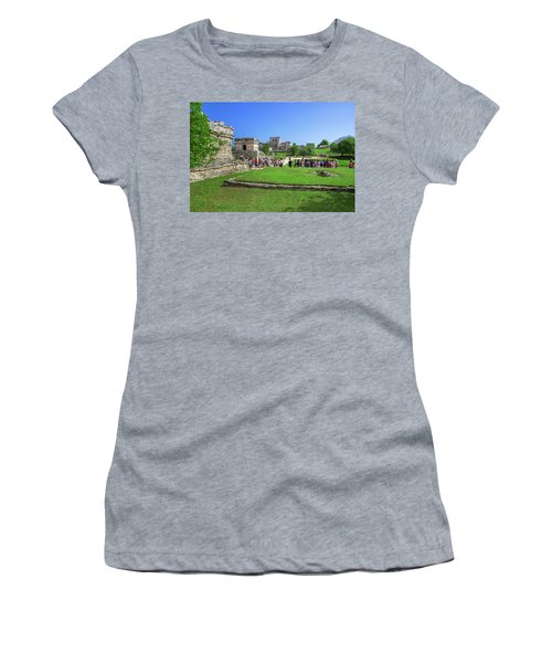 Temples Of Tulum Women's T-Shirt
