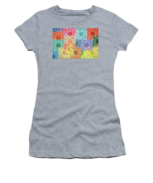 Women's T-Shirt (Athletic Fit) featuring the digital art That Which Binds Us All by Mike Braun