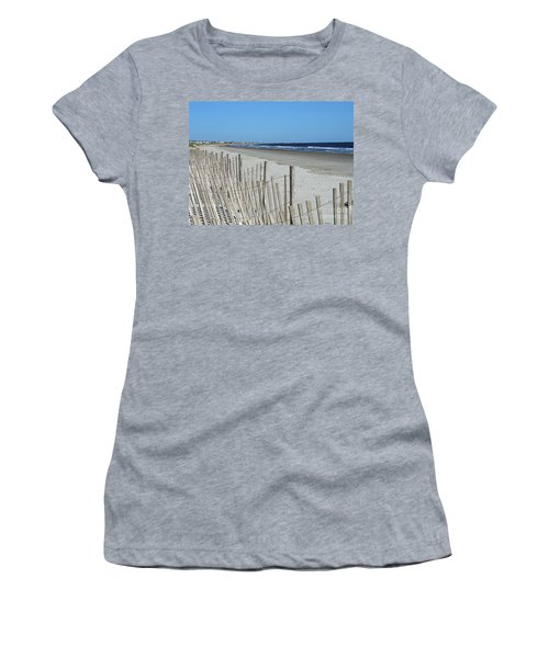 The Beach At Holden Beach North Carolina Women's T-Shirt