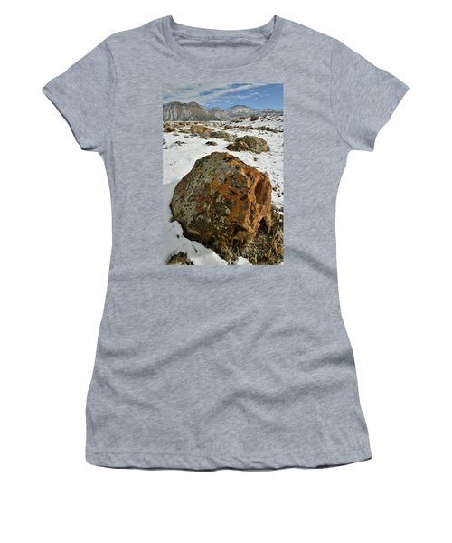 The Book Cliff's Colorful Boulders Women's T-Shirt