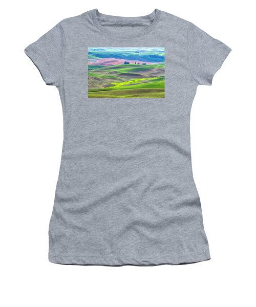 The Color Palette Of The Palouse Women's T-Shirt